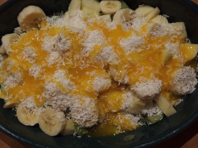 Crumble de fruits à la noix de coco (sans cuisson)