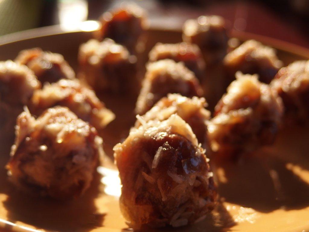 Boules de datte-coco