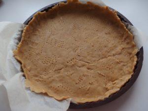 Fond de tarte farine de pois chiche