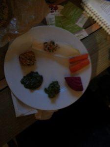 Assiette apéritif amélioré Uriage cuisine