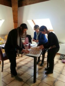 Cours de cuisine Bio Grenoble -Uriage décembre 2015