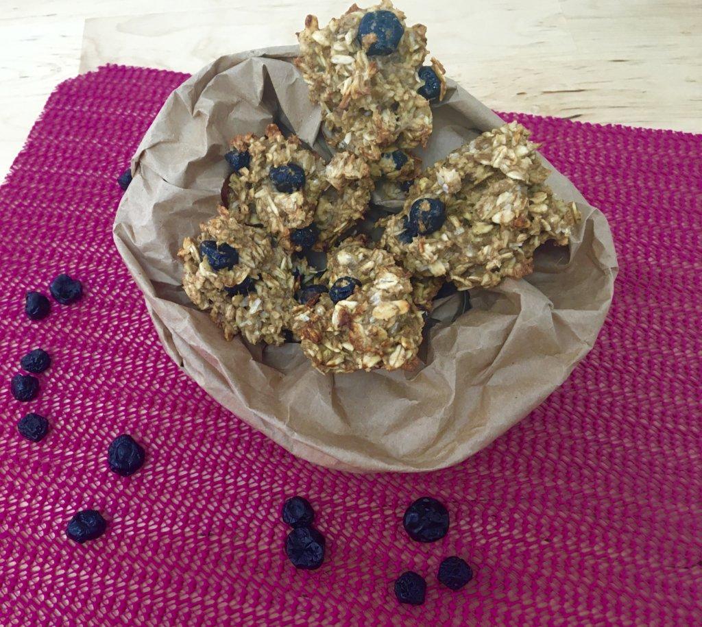 Cookies aux myrtilles (vegan)