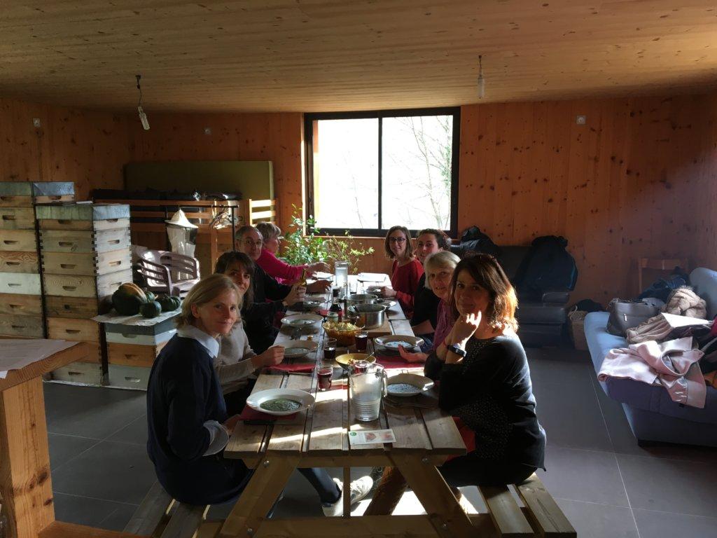 cours de cuisine Uriage Isabelle Schillig