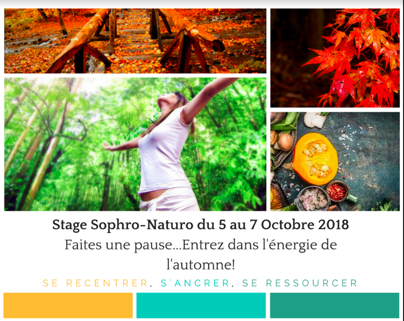 Stage Automne Sophrologie et Naturopathie Grenoble