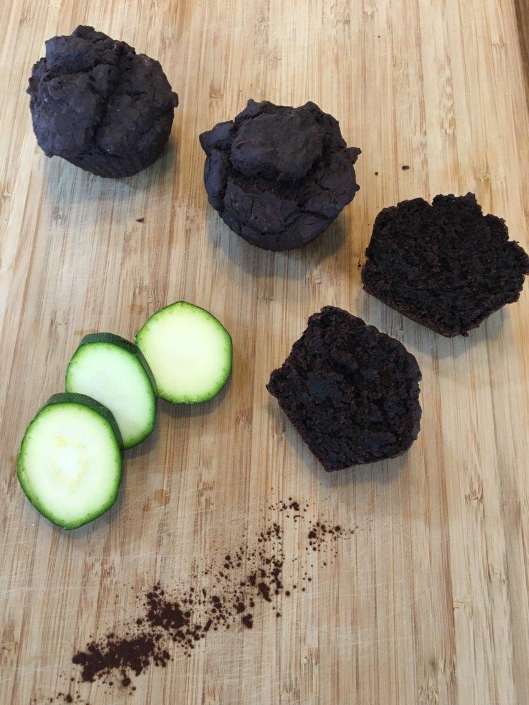 Fondant chocolat courgette sans gluten