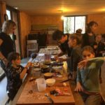 Atelier cuisine parent enfant pour CE Grenoble Uriage