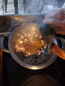 lentilles corails aux épices