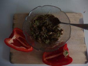 Poivron au Fonio sans gluten
