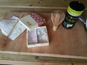 Pour commencer un Matcha, poudre de thé vert