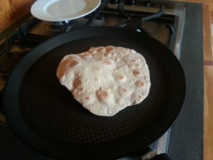 Chapati, pain Indien