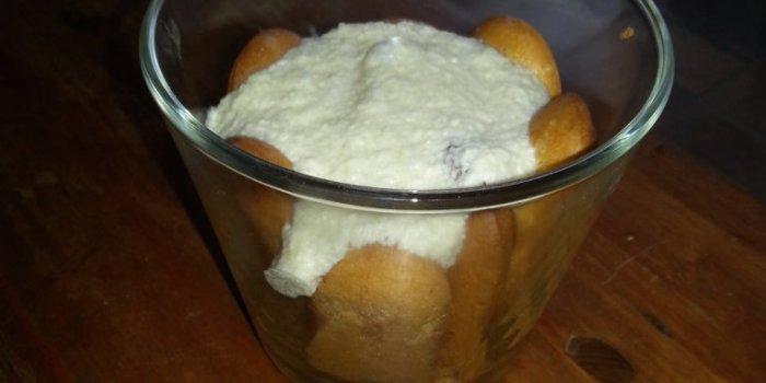Tiramisu sans gluten, sans lait