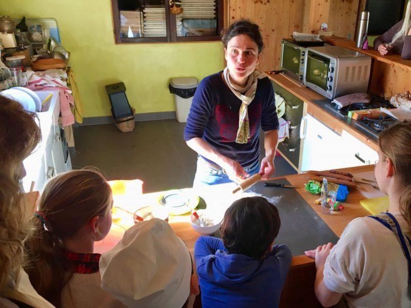 Cours de cuisine bio végé avec Isabelle Schillig naturopathe et coach culinaire Grenoble Uriage