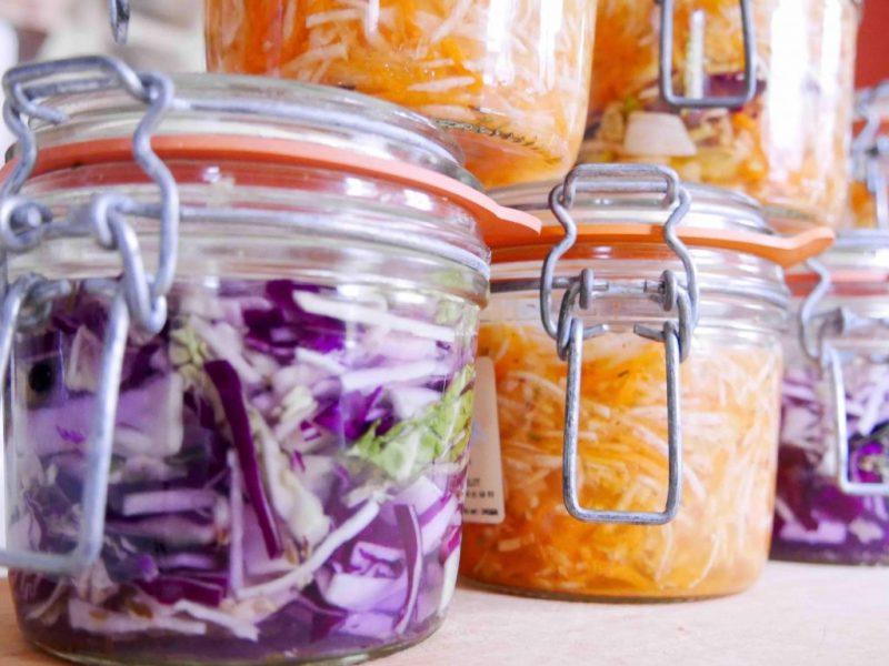 Légumes lacto-fermentés pour des intestins en bonne santé