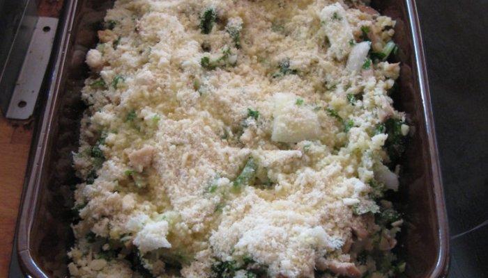 Crumble de boulgour aux légumes