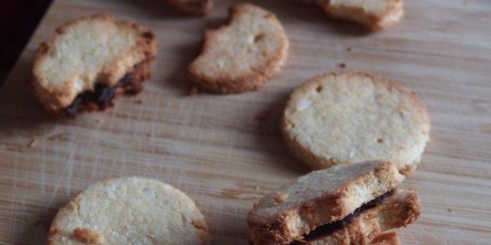 Biscuits noix de coco chocolat sans gluten